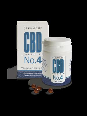 CBD 1,5 mg 100 Capsules No. 4 Cannamedic