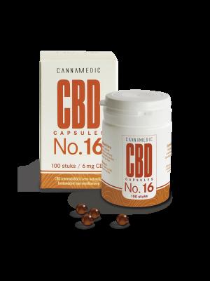 CBD 6 mg 50 Capsules No. 16 Cannamedic