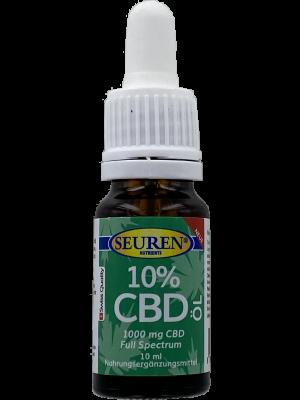 Seuren Nutrients CBD Olie (10%) Full spectrum   Hennepolie 10 ml