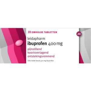 Ibuprofen 400 mg 20 Tabletten Leidapharm®