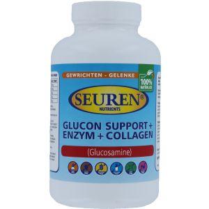 Seuren Nutrients Glucon support + Enzym + Collagen (Glucosamine) 100 Tabletten
